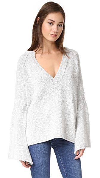 Free People Lovely Lines Sweater