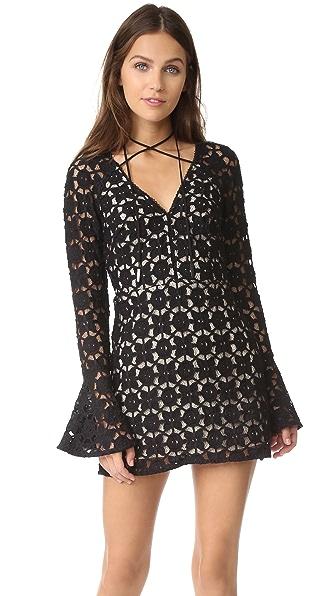 Free People Back to Black Mini Dress