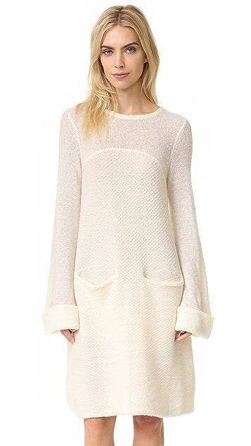 Free People White Rabbit Swit Dress