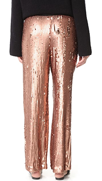Free People So Sexy Sequin Just A Dreamer Pants