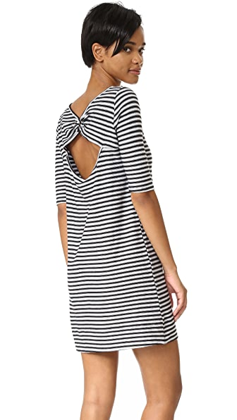 Free People Frenchie Striped Tee Dress