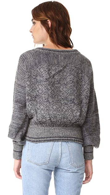Free People Hoops & Hollas Sweater