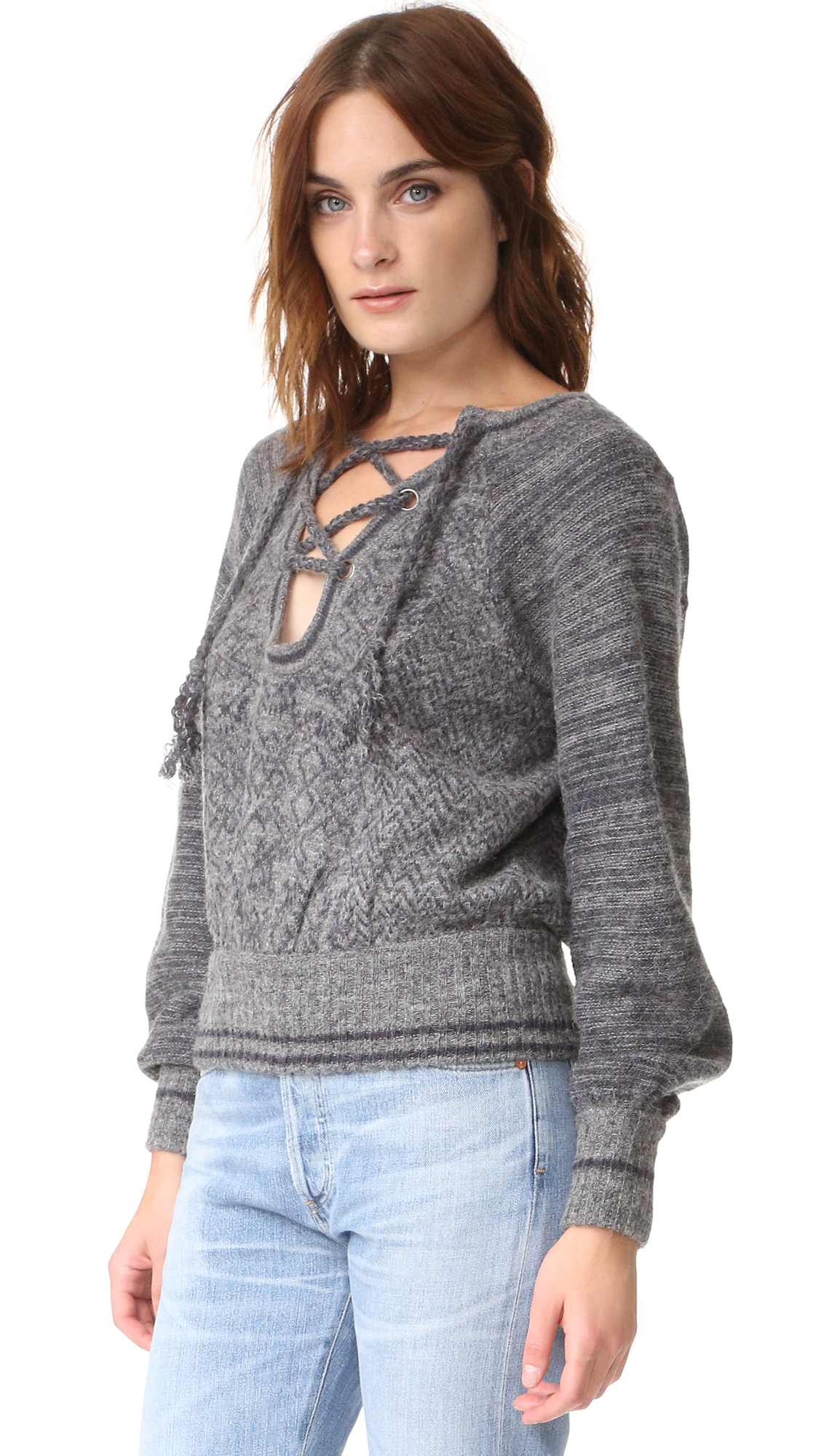 601cf295de5435 Free People Hoops   Hollas Sweater