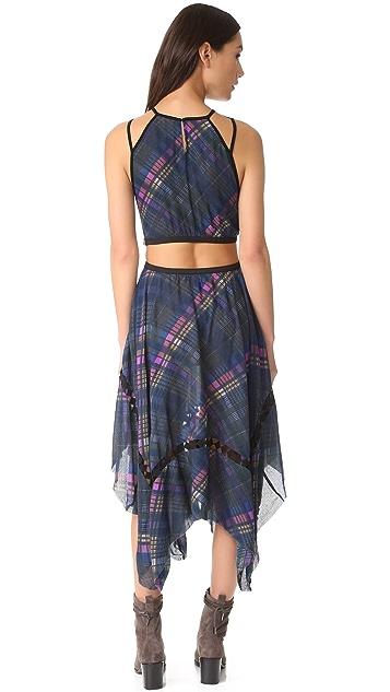 Free People Glassow Printed Dress