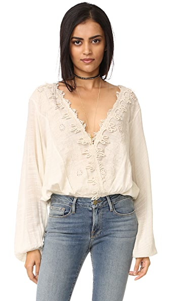 Free People Desert Sands Blouse