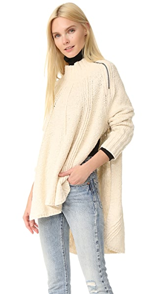 Free People Spin Around Poncho