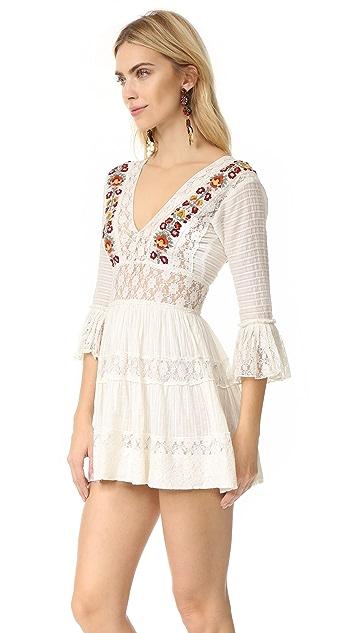 Free People Antiquity Mini Dress