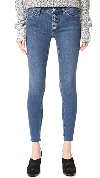 Free People Reagan Raw Edge Jeans