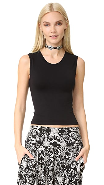 Free People Cropped Seamless Muscle Tank
