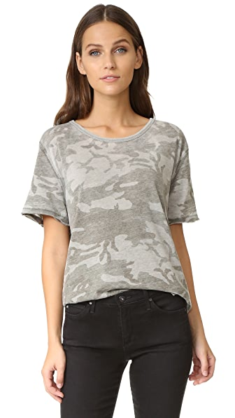 Free People Army Tee - Green