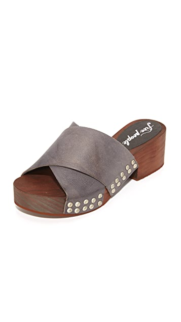 Free People Sonnet Clog Slides