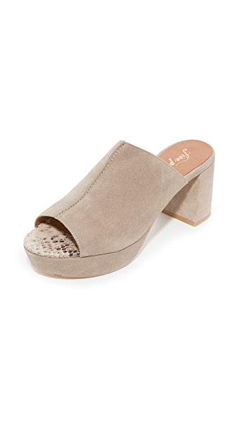 Free People Moody Mules - Grey