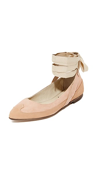 Free People Pressley Wrap Ballet Flats