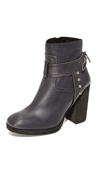 Free People Palomar Heel Booties