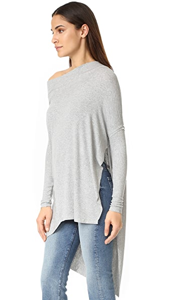 Free People Grapevine Tunic - Grey
