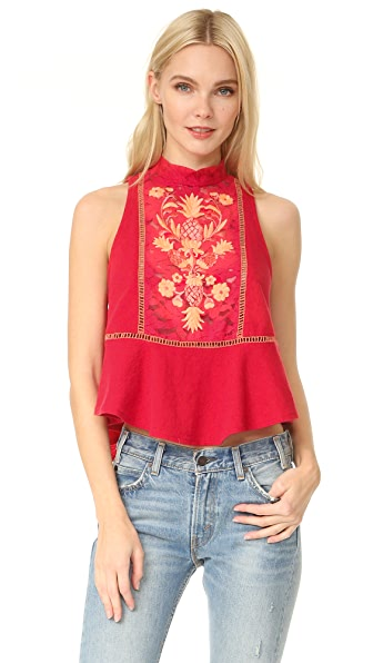 Free People Flora Top