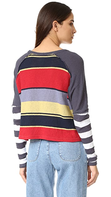 Free People Sunny Side Pullover