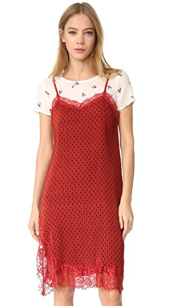 Free People Margot 2Fer Slip Dress