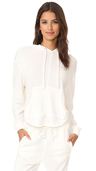 Free People Movement Back Into It Hoodie - White