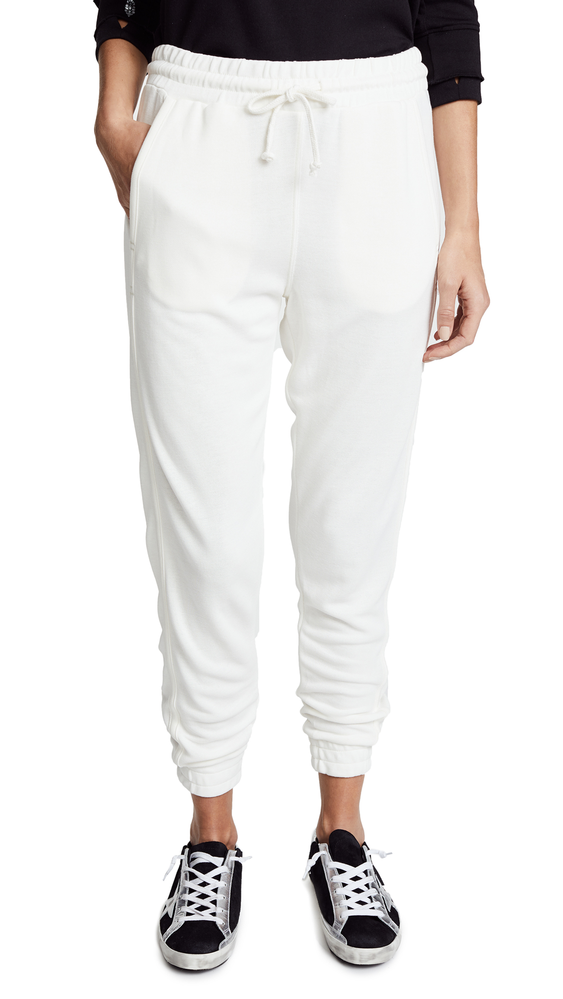 Free People Movement Back Into It Joggers - White