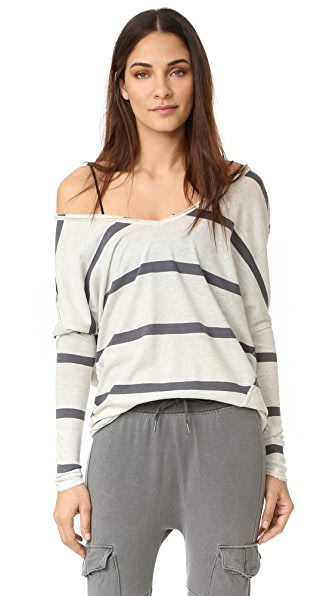 Free People Upstate Stripe Pullover