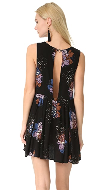 Free People Lovely Day Printed Tunic Dress