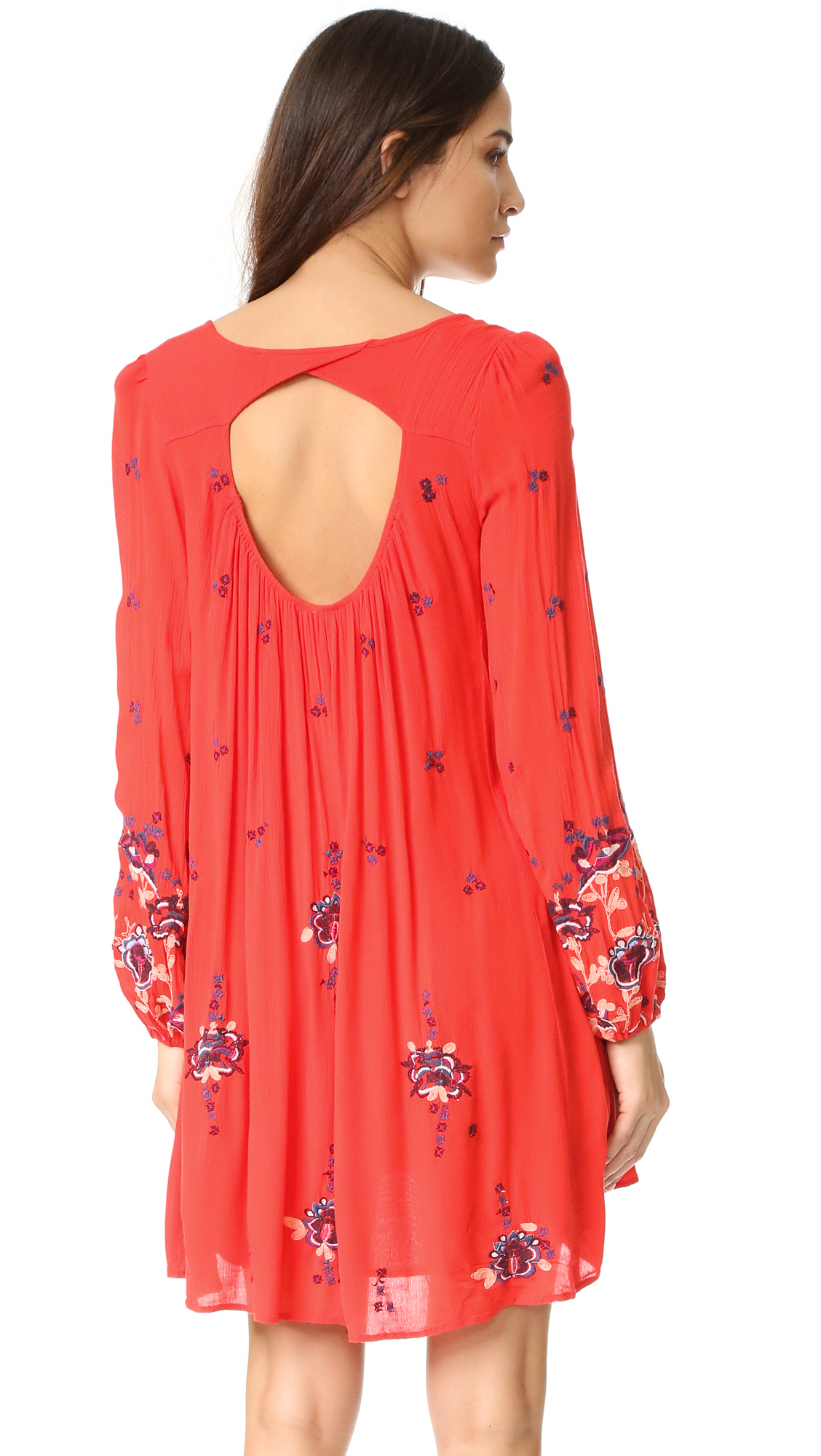 30ba5337a409 Free People Oxford Embroidered Mini Dress | SHOPBOP