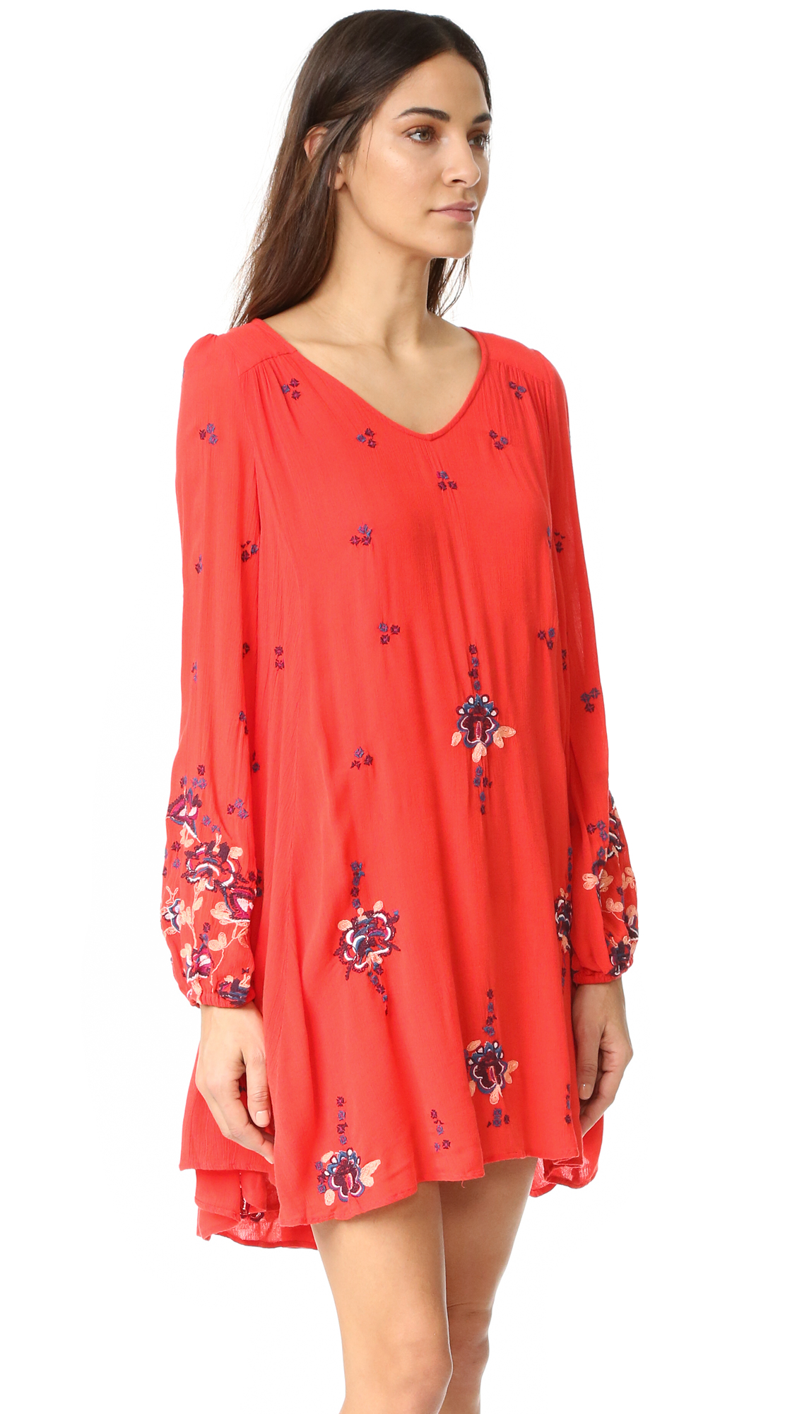6be12afc2ca3 Free People Oxford Embroidered Mini Dress | SHOPBOP
