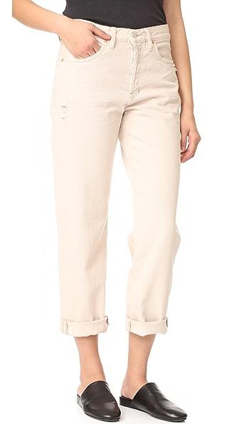 Free People Универсальные джинсы-бойфренды