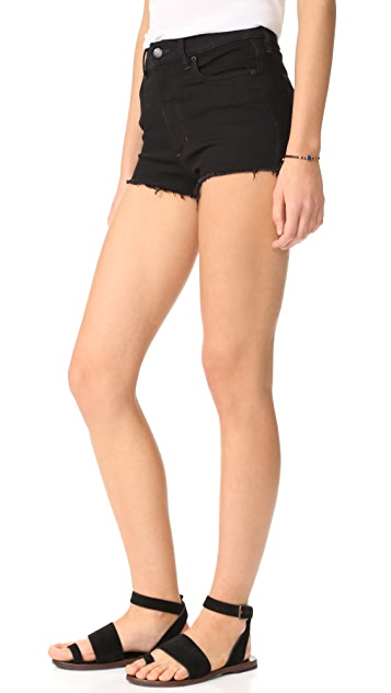 Free People High & Tight Cutoff Shorts