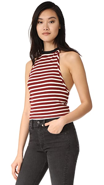 Free People Rochford Halter Top
