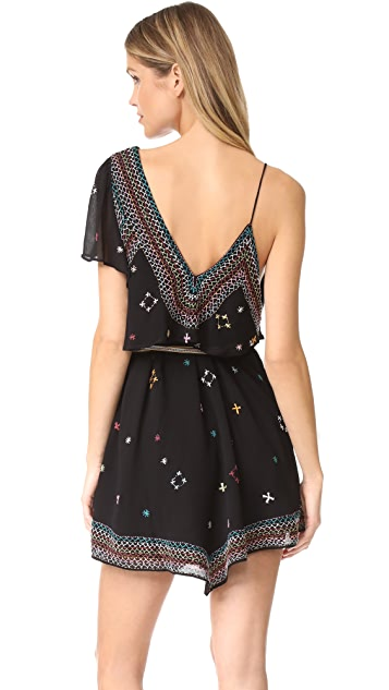 Free People These Eyes Together Mini Dress