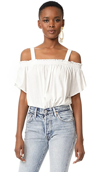 Free People Darling Top - White