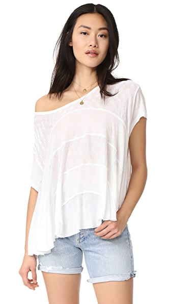 Free People Anything And Everything Top In White