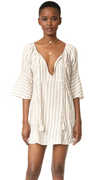 Free People Folk Town Mini Dress