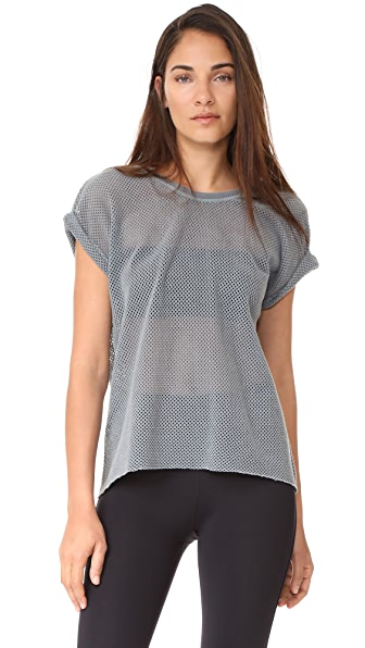 Free People Movement Hot Stuff Mesh Tee