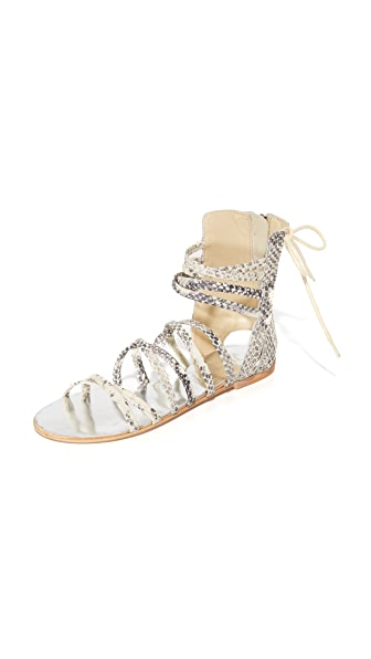 Free People Juliette Wrap Sandals