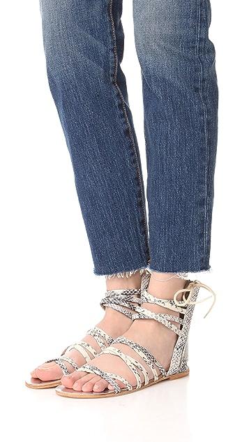 Free People Juliette Wrap Sandals