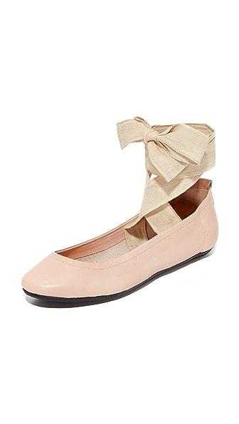 Free People Degas Ballerina Flats - Pink