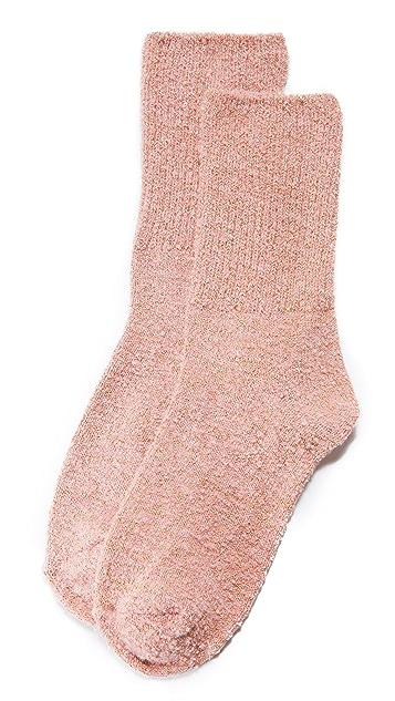 Free People Cece Shimmer Socks