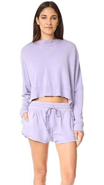 Free People Morning Run Set - Purple