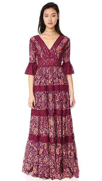 Free People Dulce Maria Maxi Dress