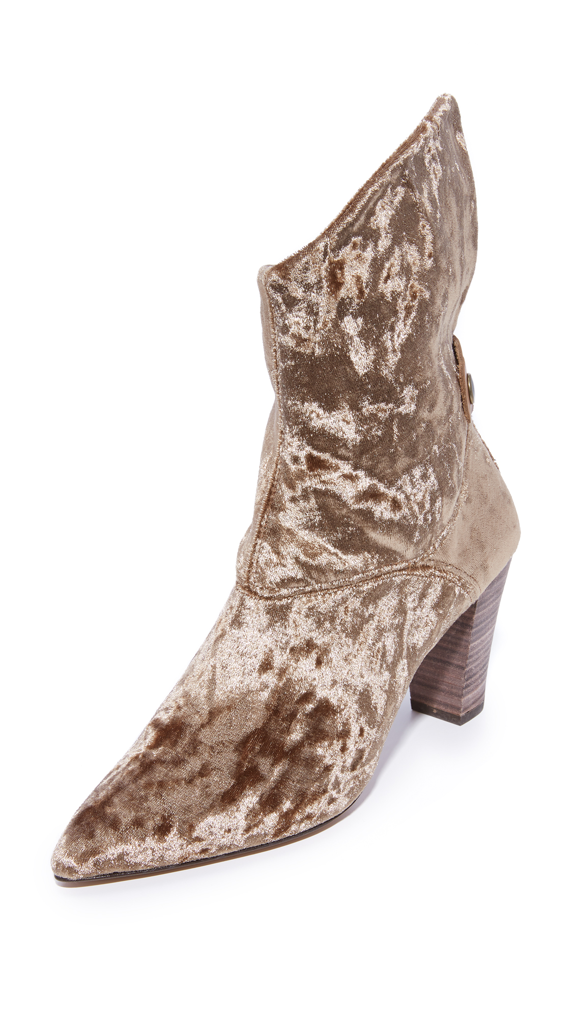 Free People Moonlight Heel Booties - Brown