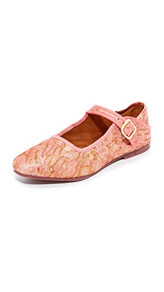 Free People Evie Mary Jane Convertible Flats In Pink