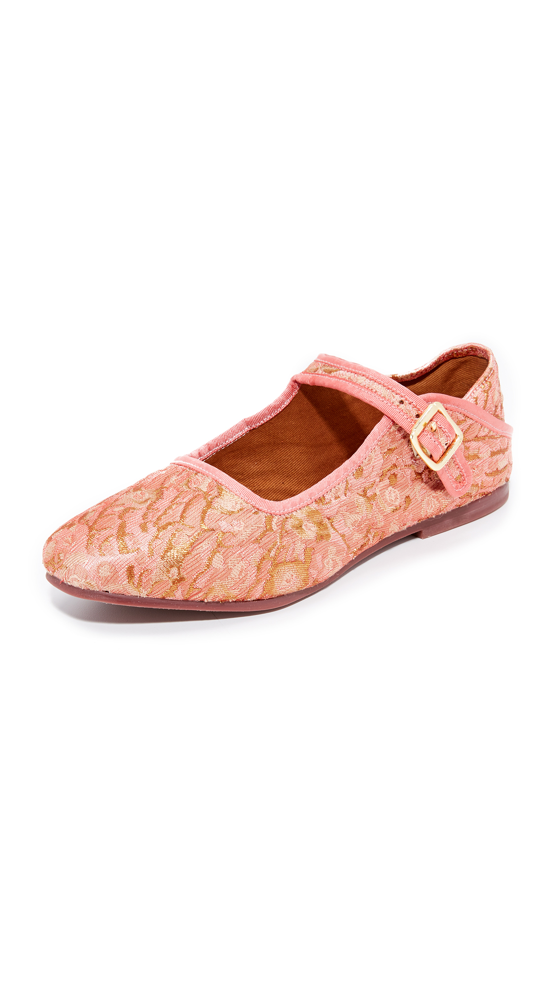 Free People Evie Mary Jane Convertible Flats - Pink