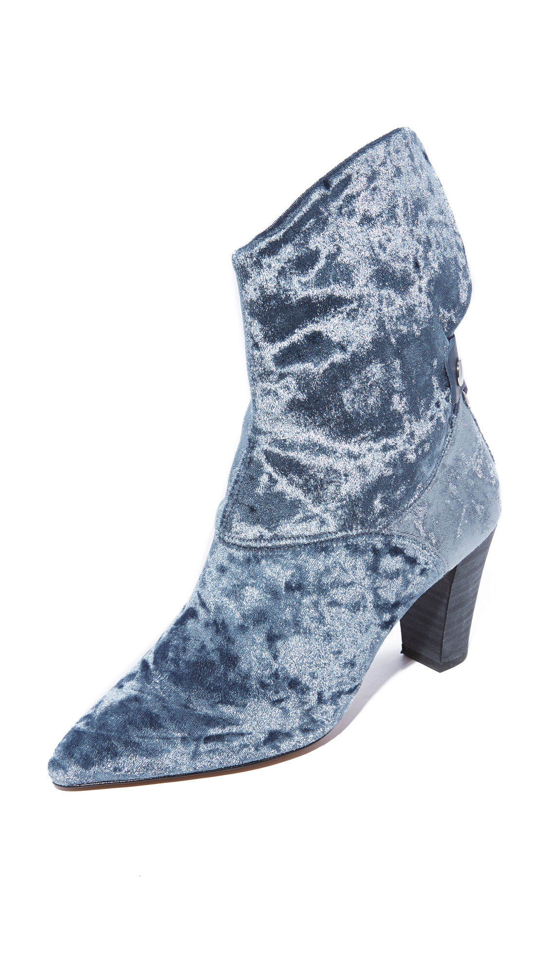 Free People Moonlight Heel Booties - Grey