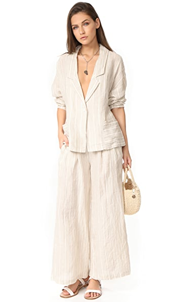 Free People Beachy Suit - Sand