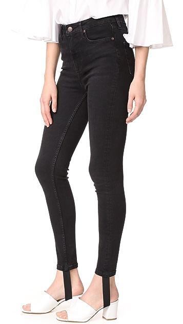 Free People Denim Stirrup Jeans