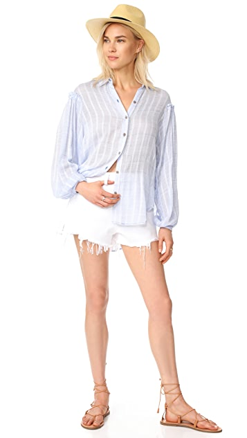 Free People Headed To The Highlands Top