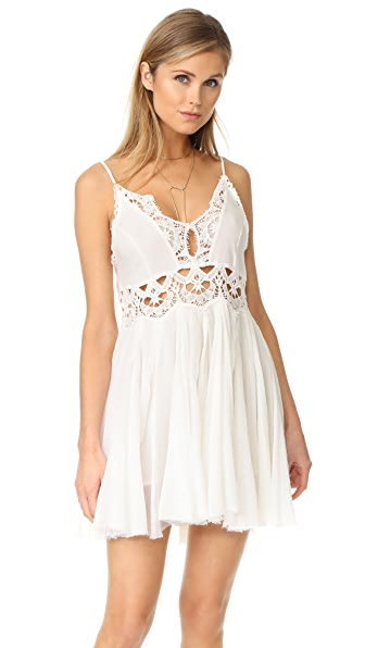 Free People Ilektra Mini Dress - White